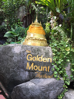 Golden Mount in Bangkok Tipp
