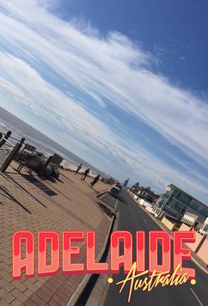 Adelaide Australien Strand